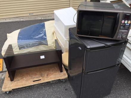品川区旗の台での家電回収事例