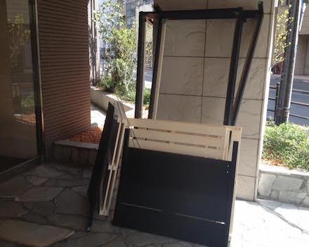 大田区のベッドフレーム回収事例