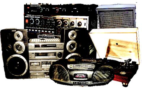 オーディオ機器の買取、処分、回収
