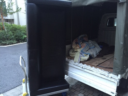 大田区のソファ回収事例