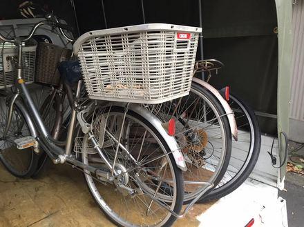 自転車の廃棄回収処分