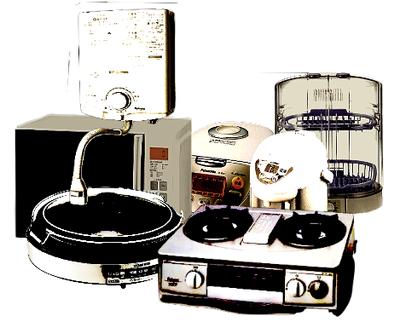 キッチン家電、調理機器の回収廃棄処分