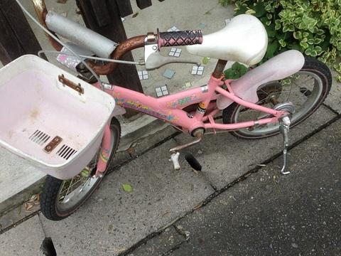 大田区での子供用自転車回収
