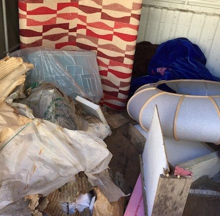 ベランダの粗大ゴミ回収